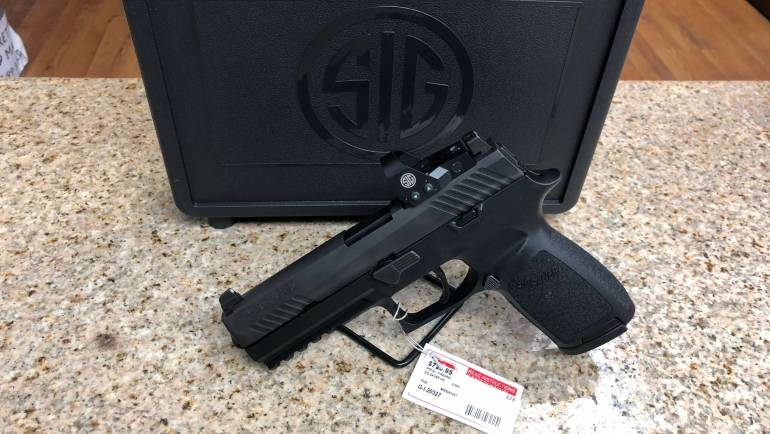 New Sig Sauer P320 RX Full Size