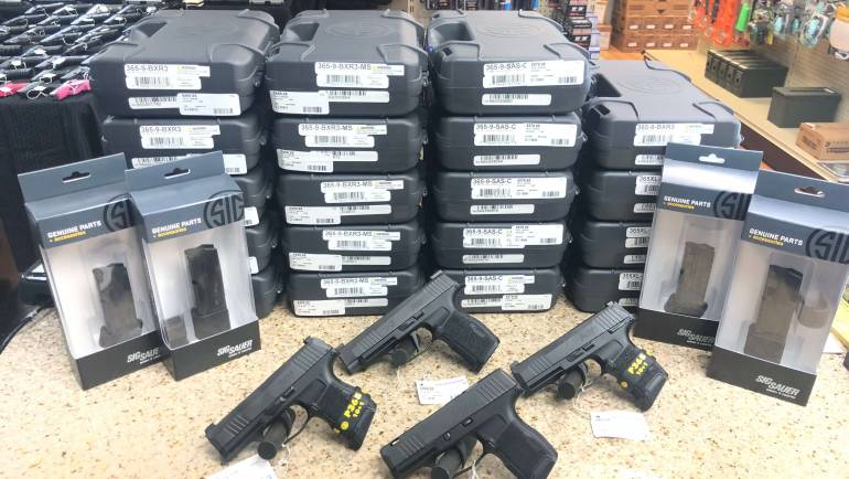 ALL Sig Sauer P365 Models IN STOCK
