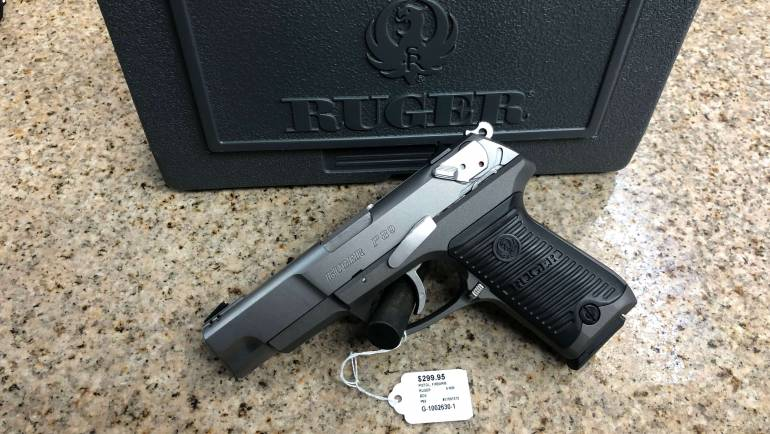 Used Ruger P89 9mm Pistol!