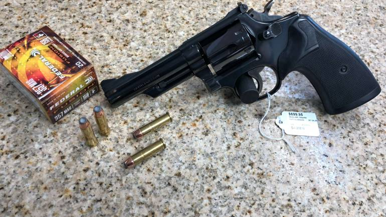 Used Smith & Wesson 19-4 .357 Revolver