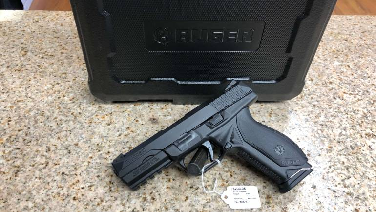NEW Ruger American 9mm Pistol
