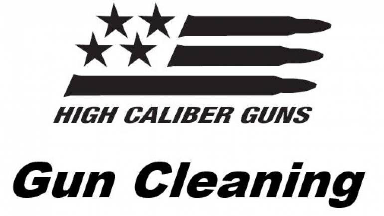 Gun Cleaning Services at High Caliber