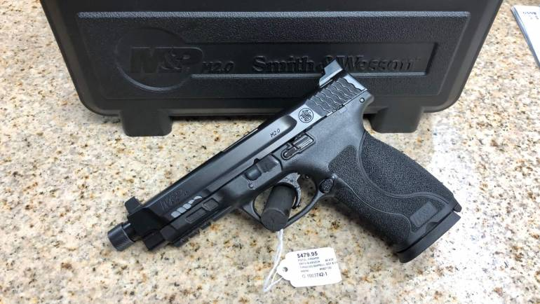 Used Smith & Wesson M&P45 Suppressor Ready W/ 3 Mags
