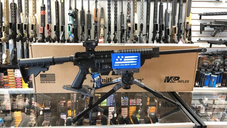 Smith & Wesson M&P15 W/ Crimson Trace Red/Green Dot