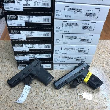 Ruger Security-9 & Smith & Wesson M&P9ShieldEZ