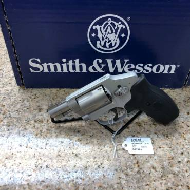 Used Smith & Wesson 642-2 W/ Crimson Trace Grips