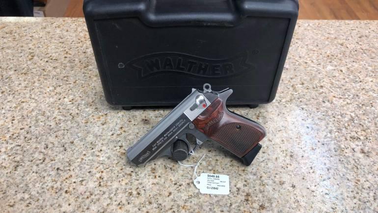 Walther PPK/S 380ACP First Edition