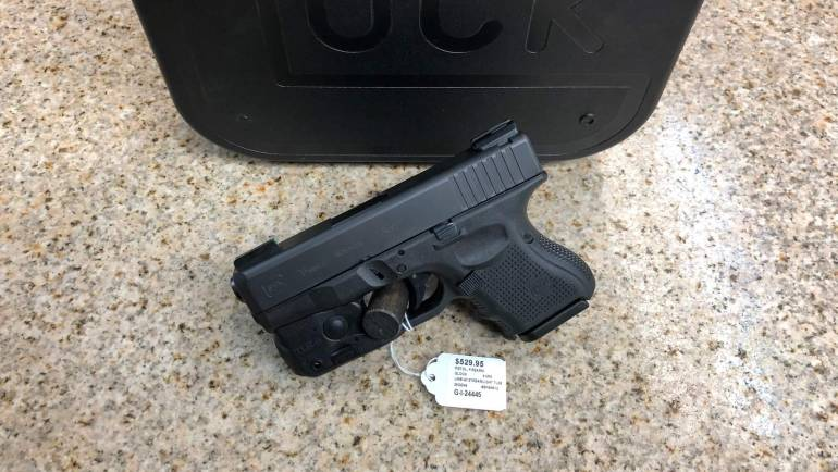 LNIB Glock 26 Gen 5 W/ Streamlight TLR6