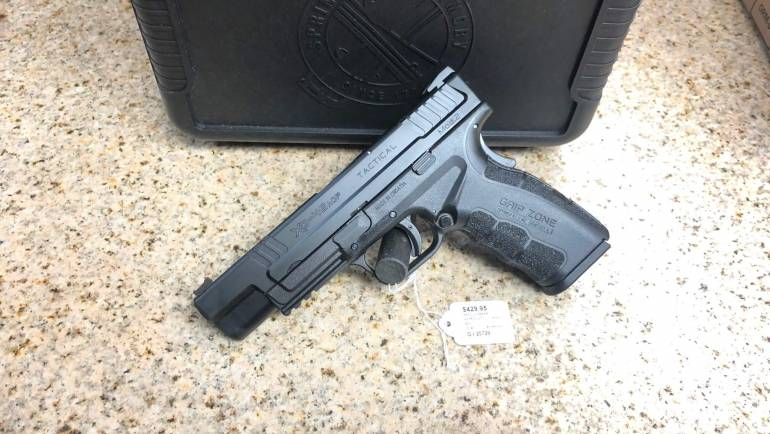 Used Springfield Armory XD-45 Mod.2 Tactical