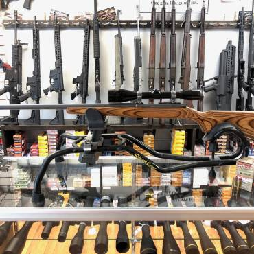 Used Ruger 77/22 .22 Hornet Rifle W/ Leupold