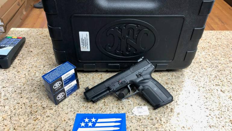 Used FNH Five-Seven Pistol