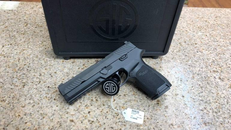 Used Sig Sauer P320 Full Size