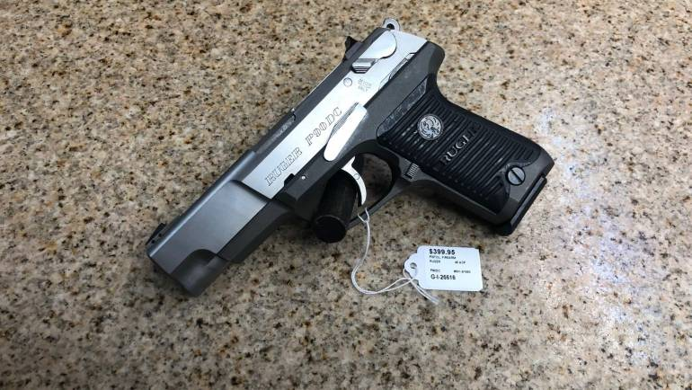 Used Ruger P90DC .45ACP Pistol