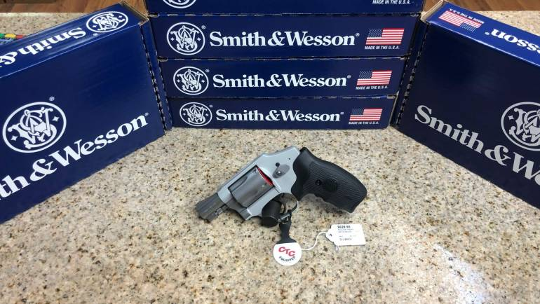Smith & Wesson Airweight 642 W/ Crimson Trace Laser