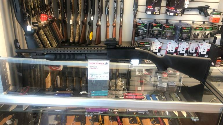 Used Mossberg 500 W/ Red Dot