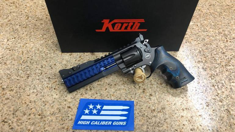 Nighthawk Customs Korth Super Sport ALX .357
