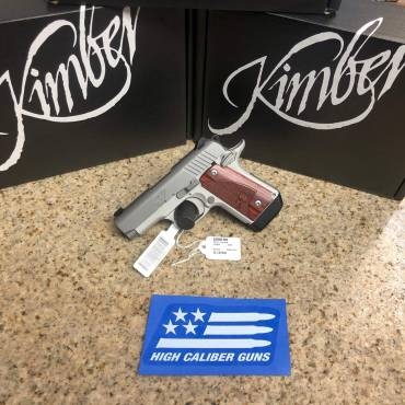 Kimber Micro 9 Stainless With Rosewood Grips