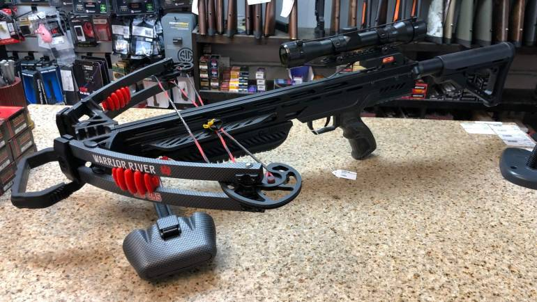 Crossbows Now At High Caliber