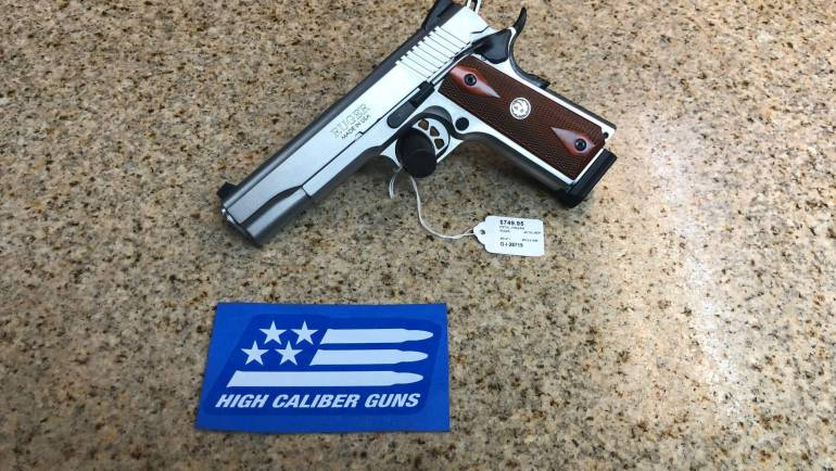 Used Ruger SR1911 45ACP