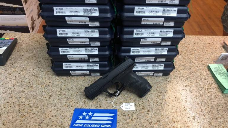 Shipment of Walther PPQ 9mm Pistols