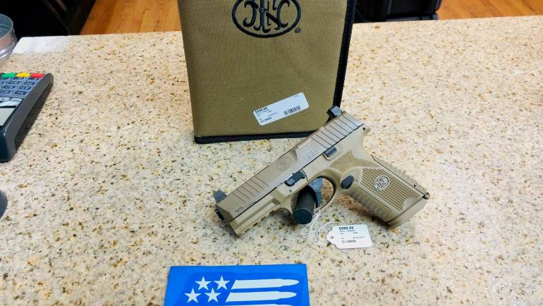 Used FNH 509M FDE 9mm