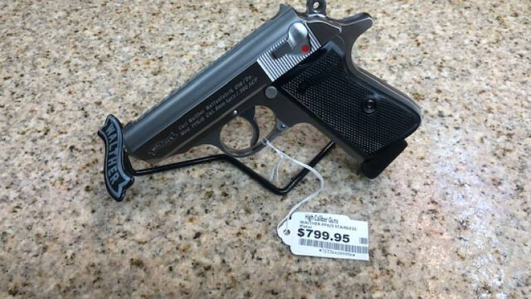 Walther PPK/s Stainless .380