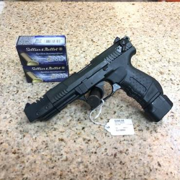 Used Tactical Walther P22 .22LR Pistol