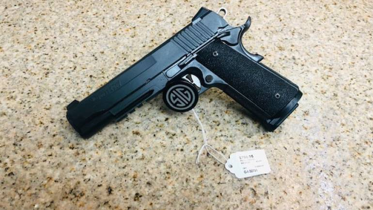 Used Sig Sauer 1911 Tacops .45