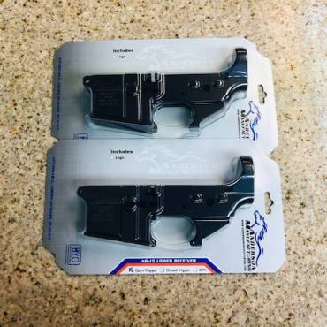 2 Stripped Anderson Lowers for $100