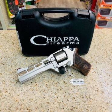 Chiappa 60DS .357 Nickel 6″