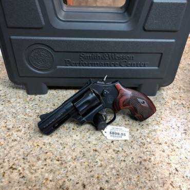Used Smith & Wesson Model 19 Carry Comp .357 Revolver