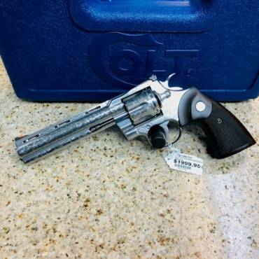 Special Edition Engraved Colt Python .357