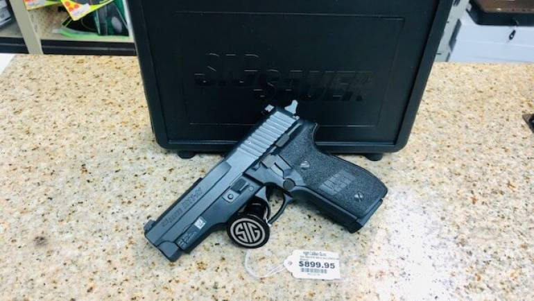 Used Sig Sauer M11A1