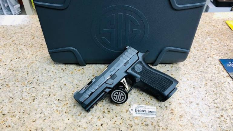 Sig Sauer P320 XCarry Spectre Gold