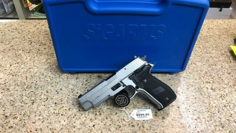 German Sig Sauer P226 Stainless 9mm